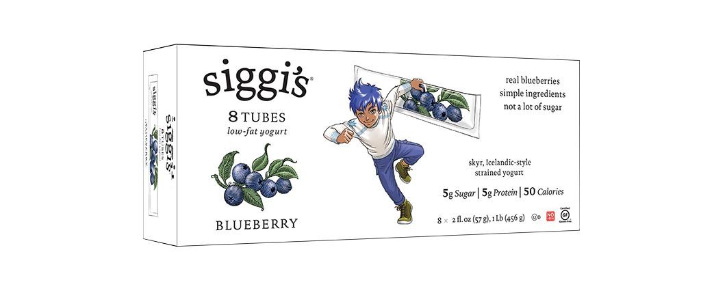 siggis blueberry yogurt tube