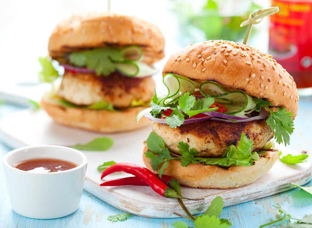 weight loss tips from experts - turkey burgers