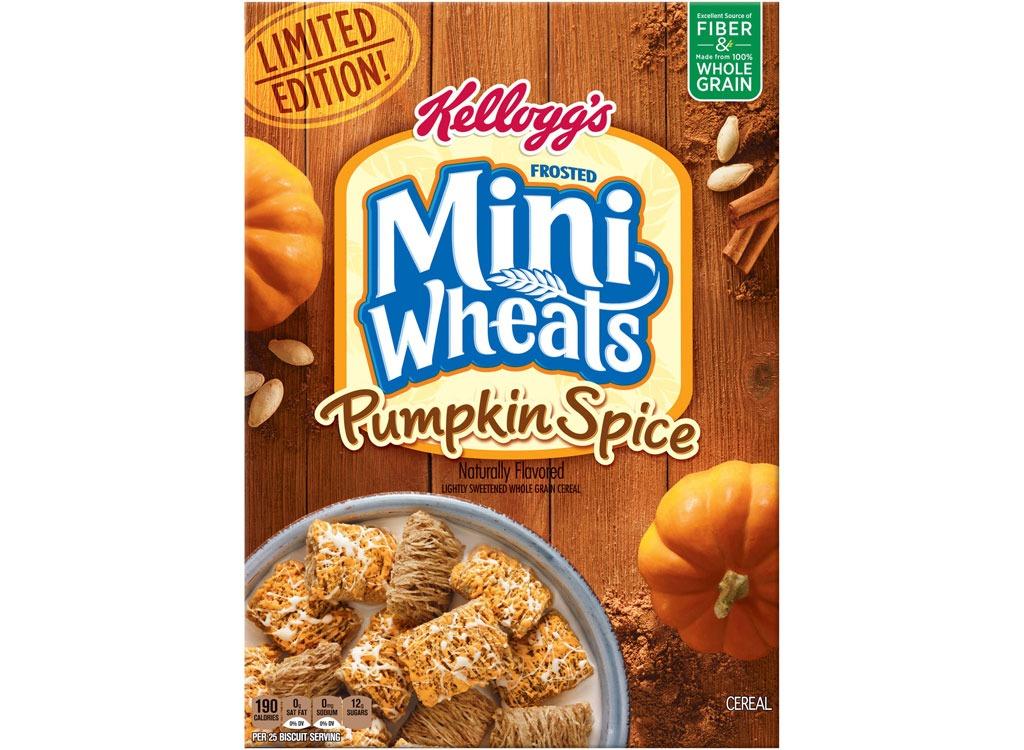 pumpkin spice mini wheats cereal