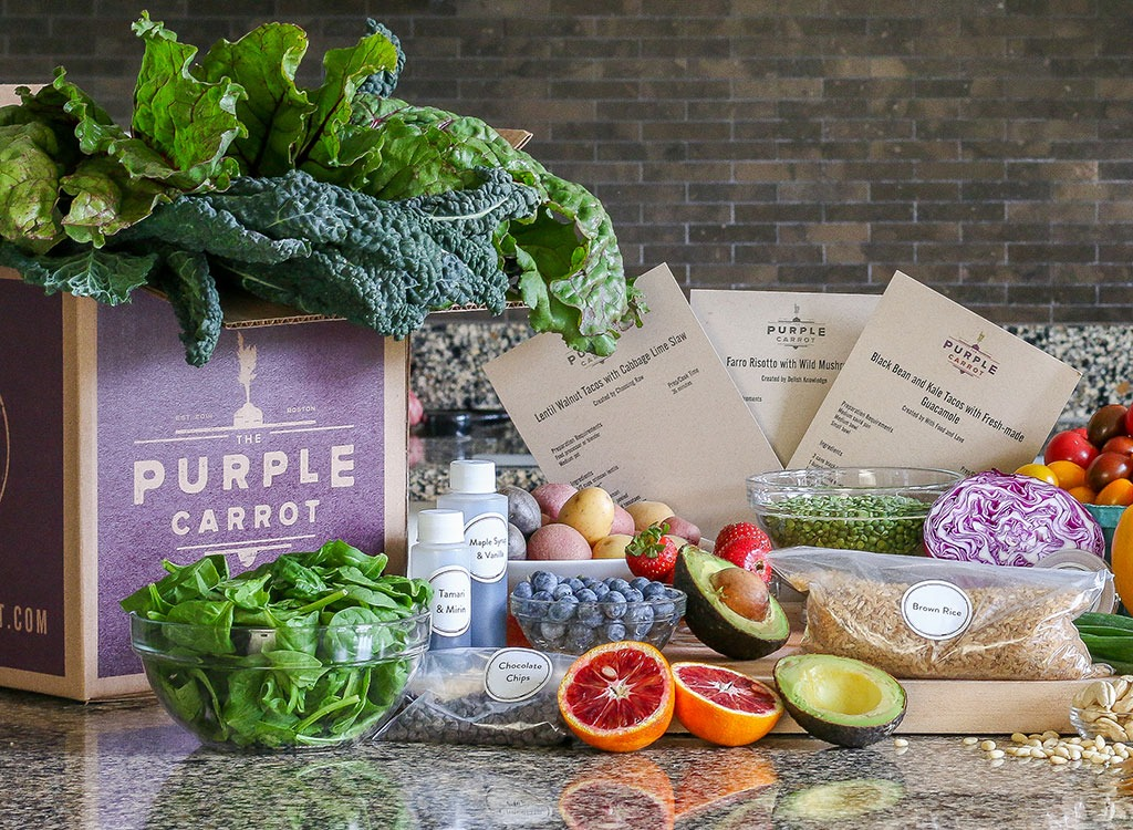 Purple carrot box - how to lose weight after 30