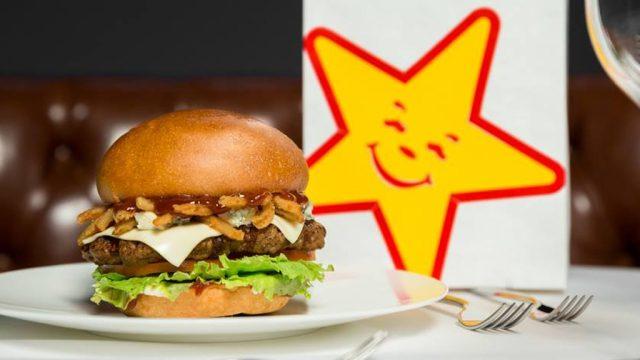 Carls jr steak burger