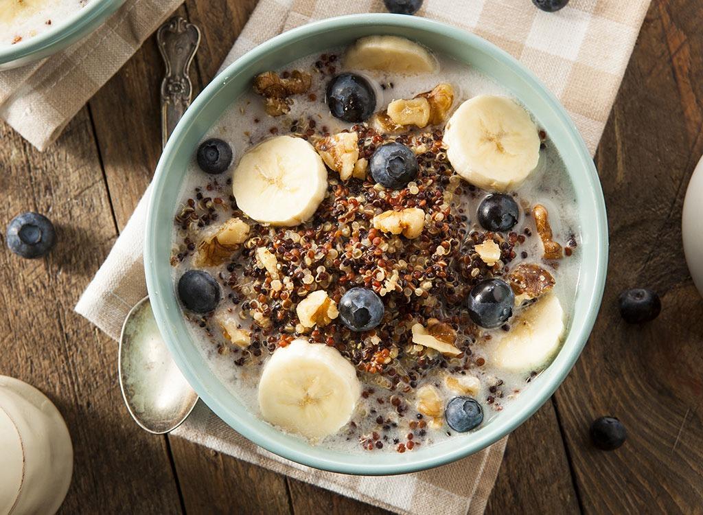 high protein breakfast quinoa