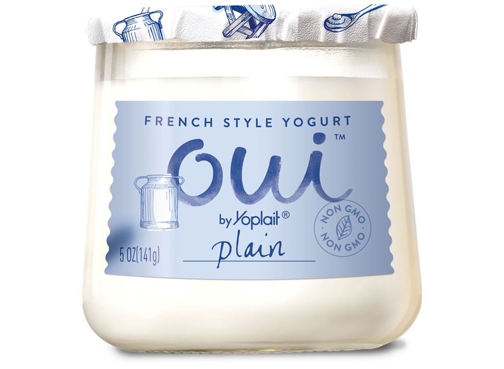 yoplait plain french style yogurt