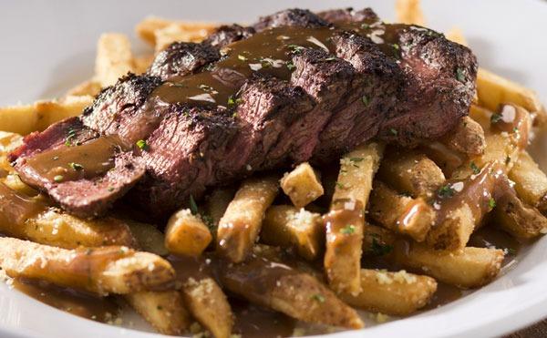 Longhorn steak frites