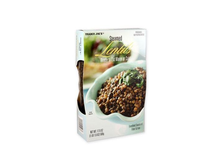 steamed lentils trader joes