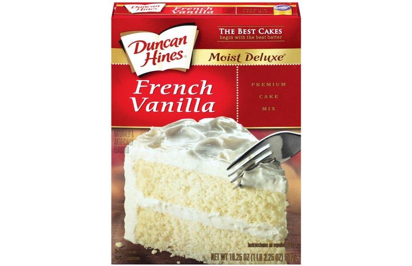 Duncan Hines Moist Deluxe French Vanilla