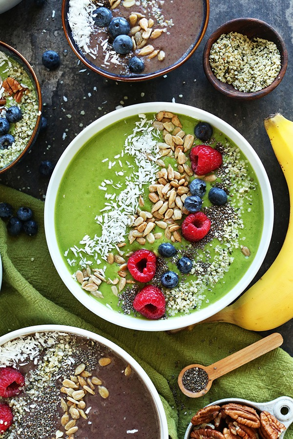 super green smoothie bowl