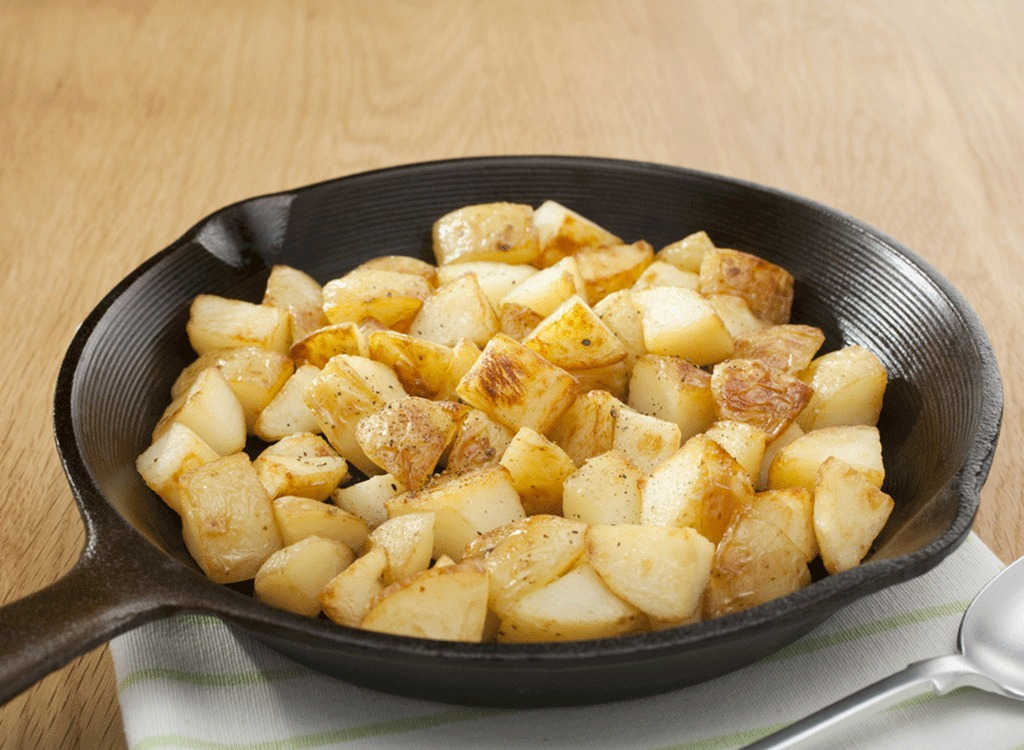 plate of home fries