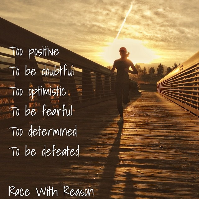 motivational quotes race with reason