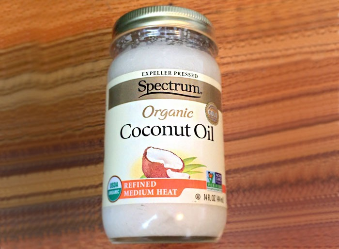 Expeller produced coconut oil