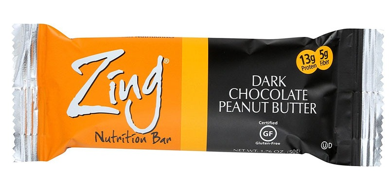 Zing bar Dark Chocolate Peanut Butter