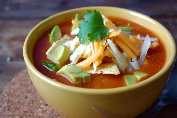 20-Minute Chicken Tortilla Soup