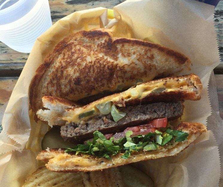 The Cheesus at The Grilled Cheese Grill