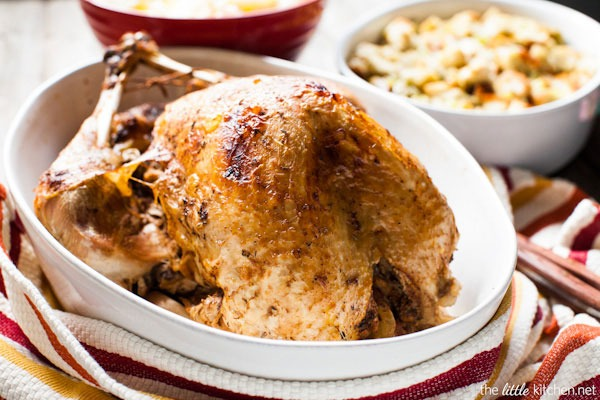 whole turkey in a slow cooker