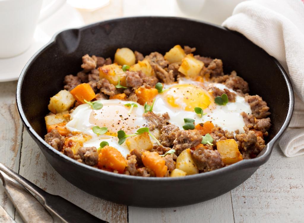 Ground turkey - healthy breakfast for weight loss