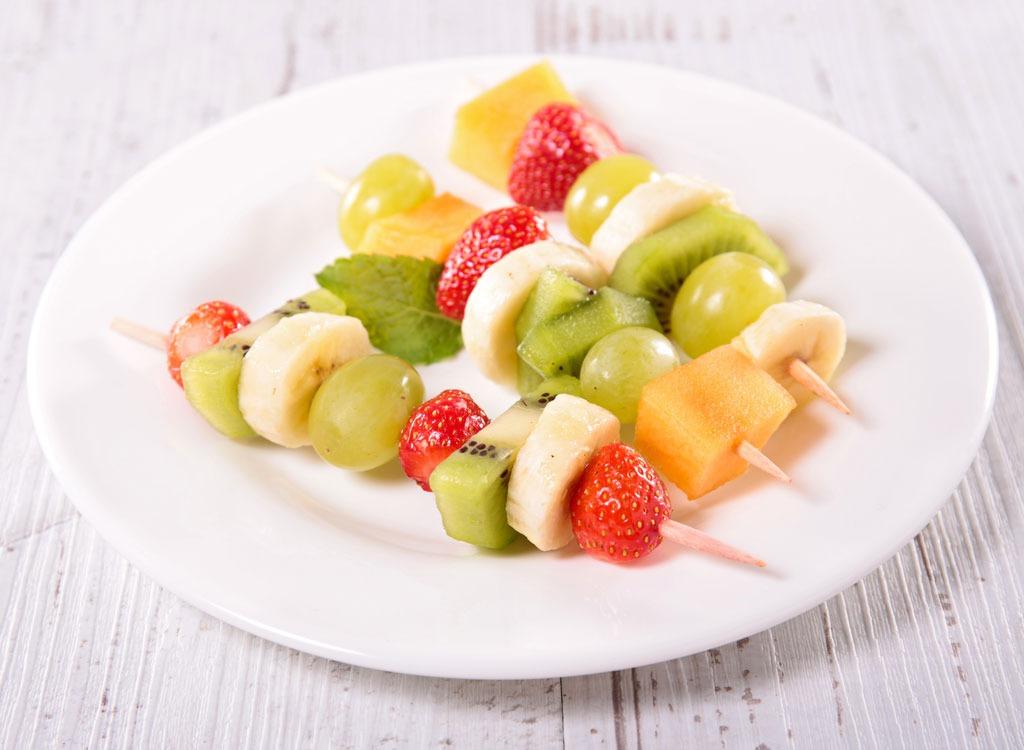 Banana recipes fruit kabob