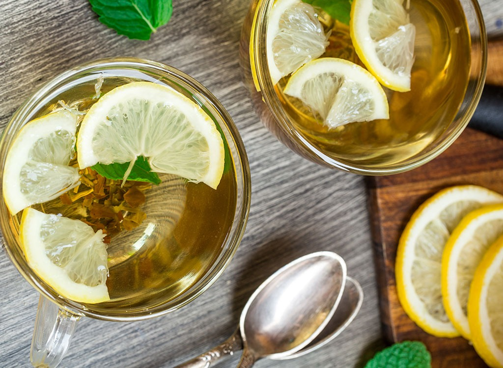 weight loss tea lemon