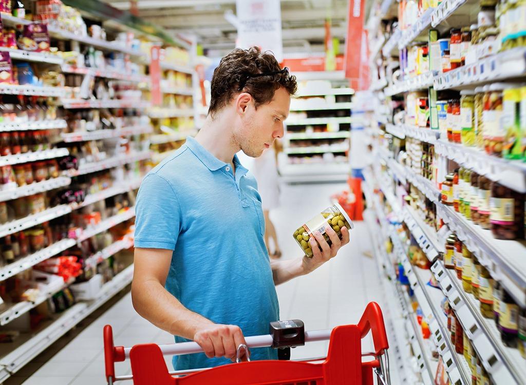 supermarket shopping tips - read glasses