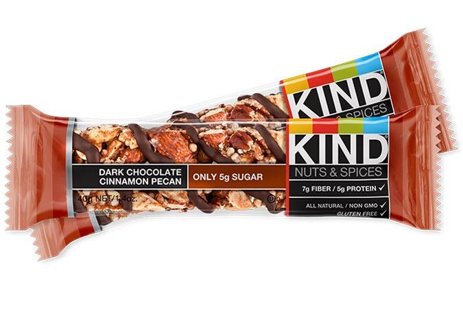 KIND DARK CHOCOLATE CINNAMON PECAN