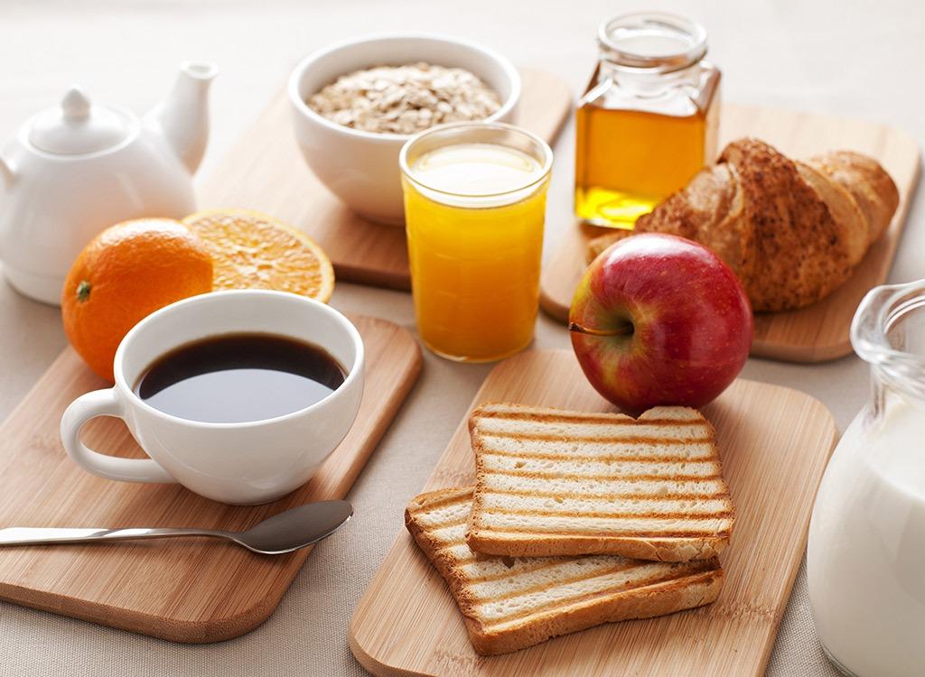 Regain weight breakfast