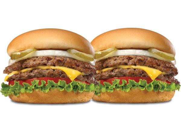 Fast food burgers ranked Steak n Shake Double n Cheese Steakburger
