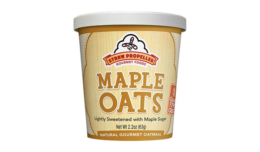 straw propeller maple oats