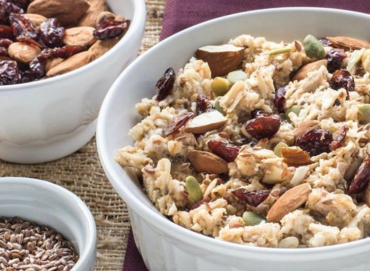 au bon pain superfood cranberry almond hot cereal