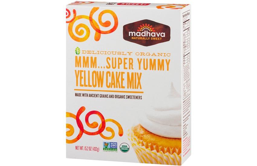 Madhava Yellow Cake Mix