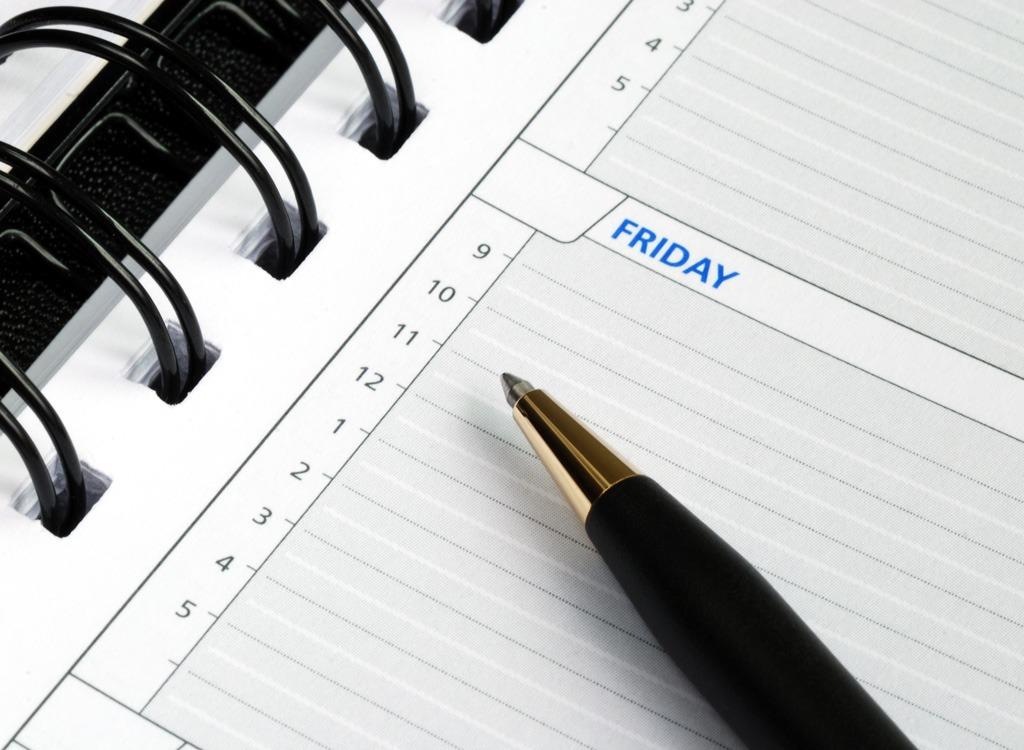 Motivational tips day planner