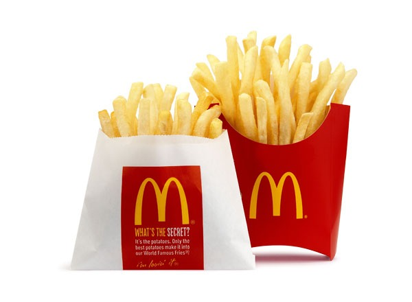 best and worst fast food french fries - mcdonalds french fries