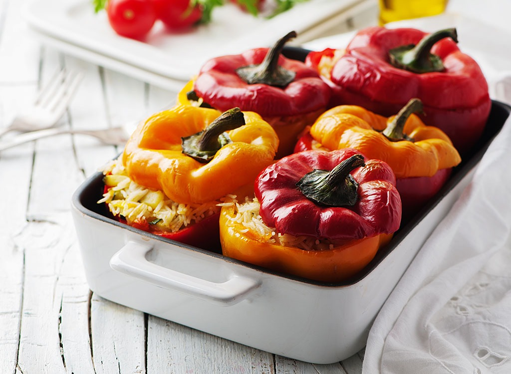Stuffed peppers - how to lose weight after 30