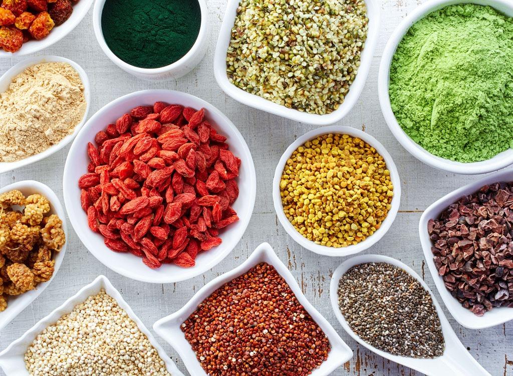 superfood plant powder