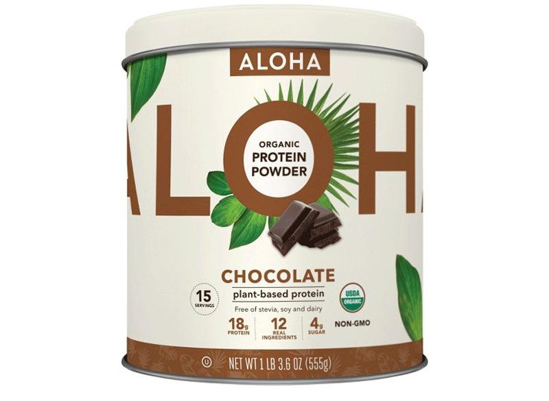 aloha protein powder chocolate