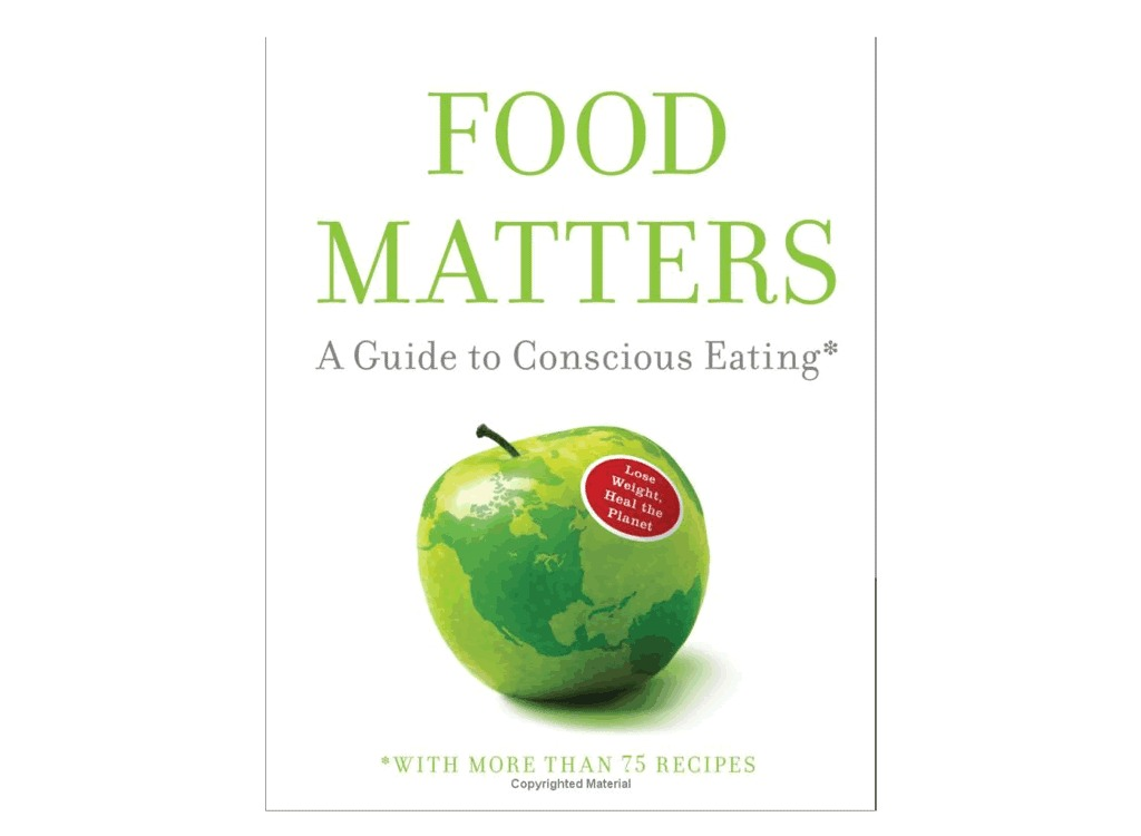 food_matters book