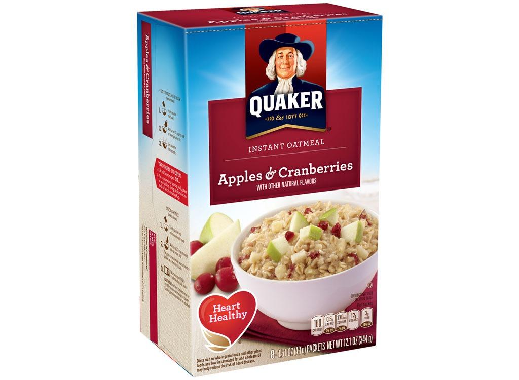 quaker applescranberries
