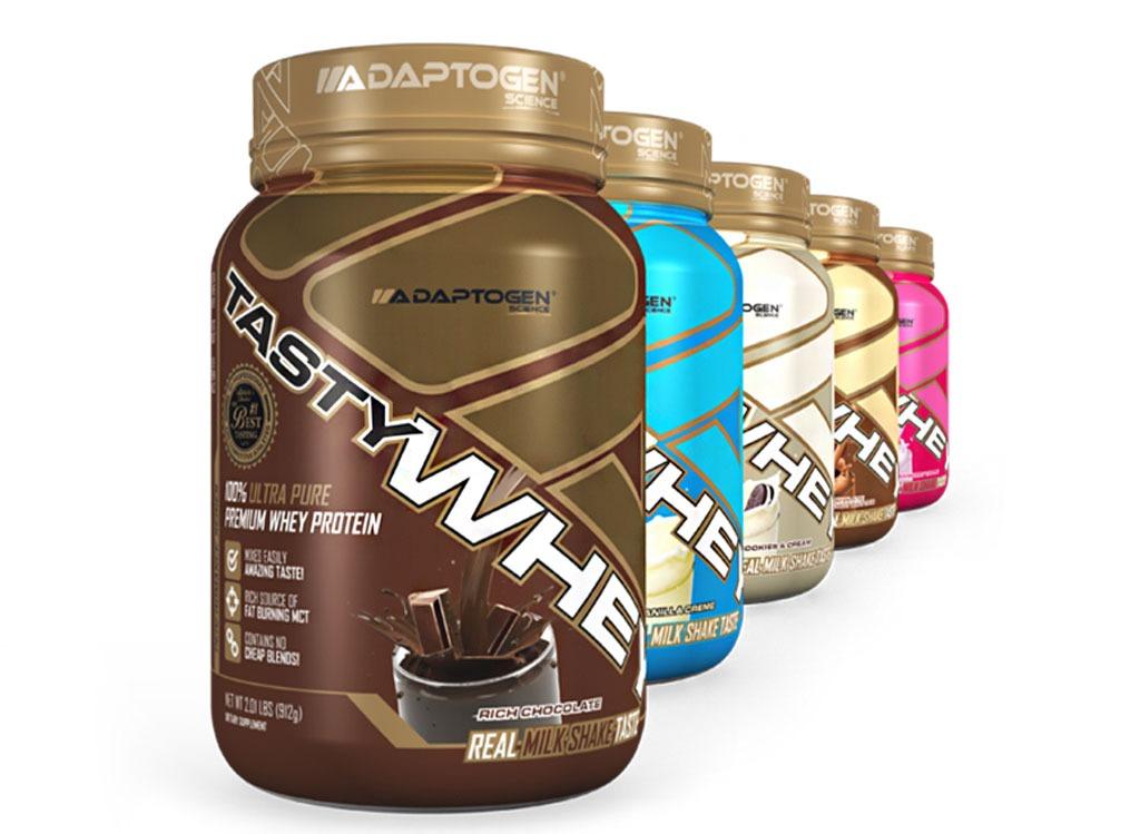 Best protein powder Adaptogen Science tasty whey