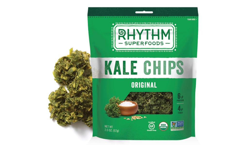 Rhythm Superfoods Kale Chips - low carb snacks