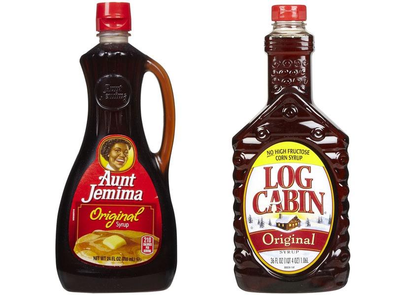 Untrustworthy foods maple syrup