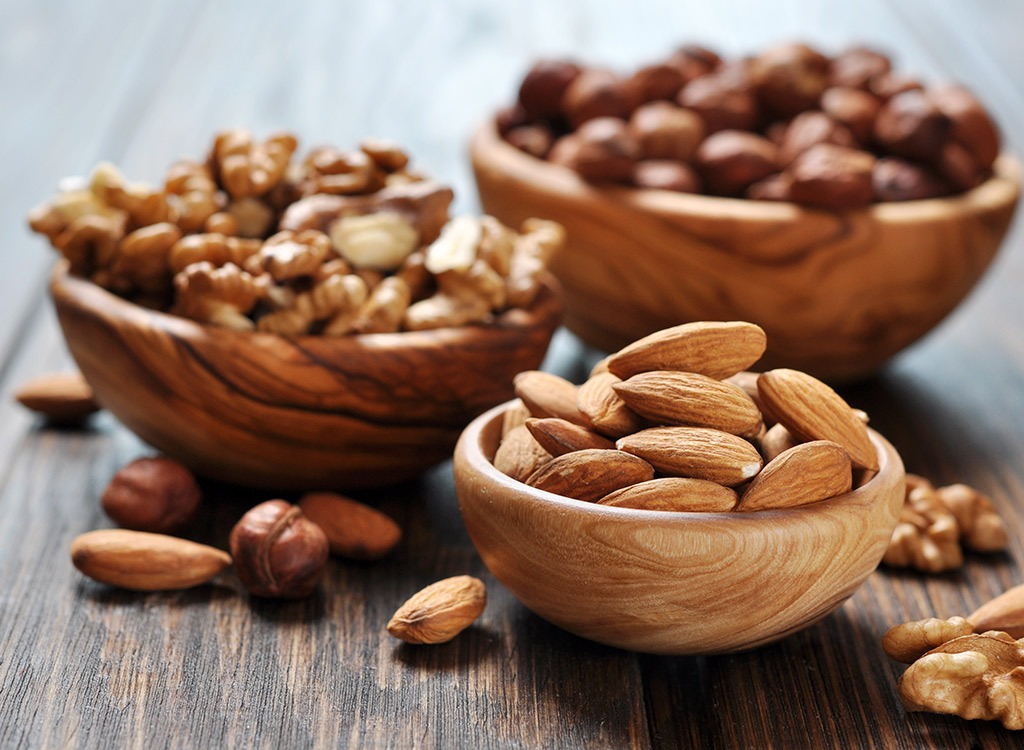best hangover cure foods - nuts