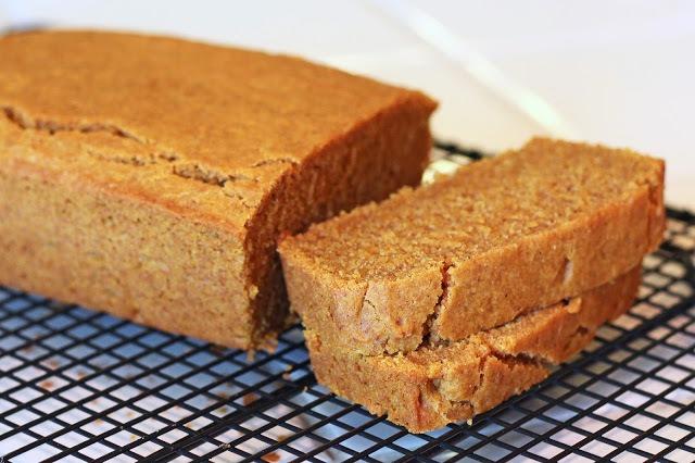 healthy dessert recipes - gluten free pumpkin bread