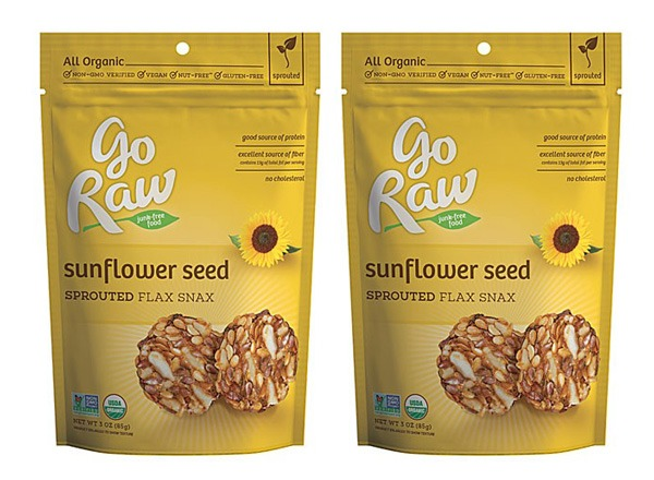 Sprouted flax snax