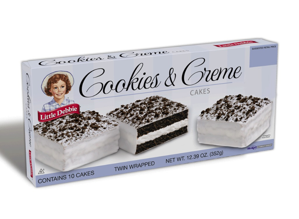 cookies and creme cakes