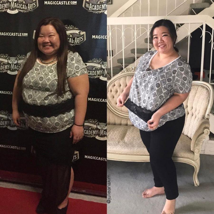 Julie Ana Kim, 72 pounds
