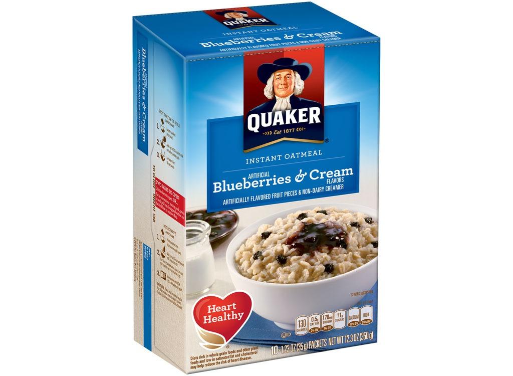 quaker blueberriescream