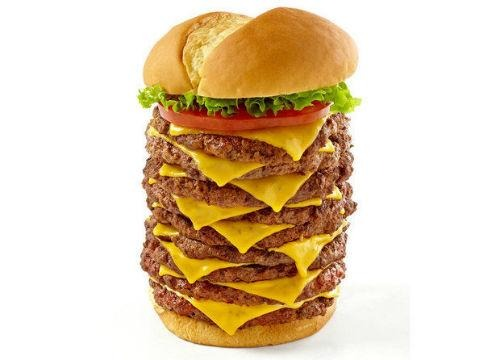 Wayback Burgers Triple Triple Burger