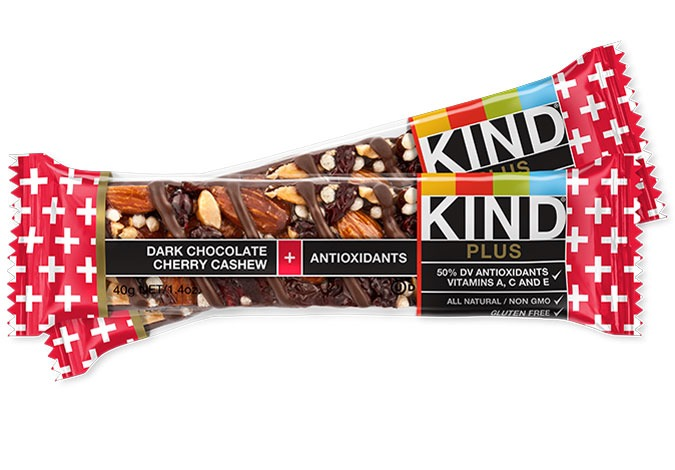 KIND DARK CHOCOLATE CHERRY CASHEW ANTIOXIDANTS