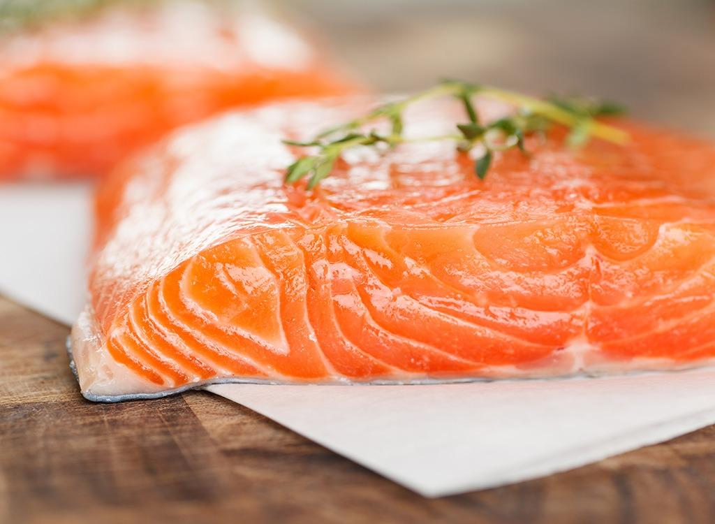 Fish ranked Farmed Atlantic Salmon