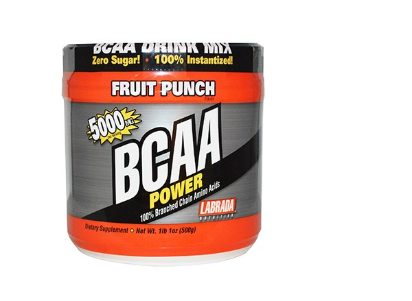bcaa power amino acids drink mix fruit punch