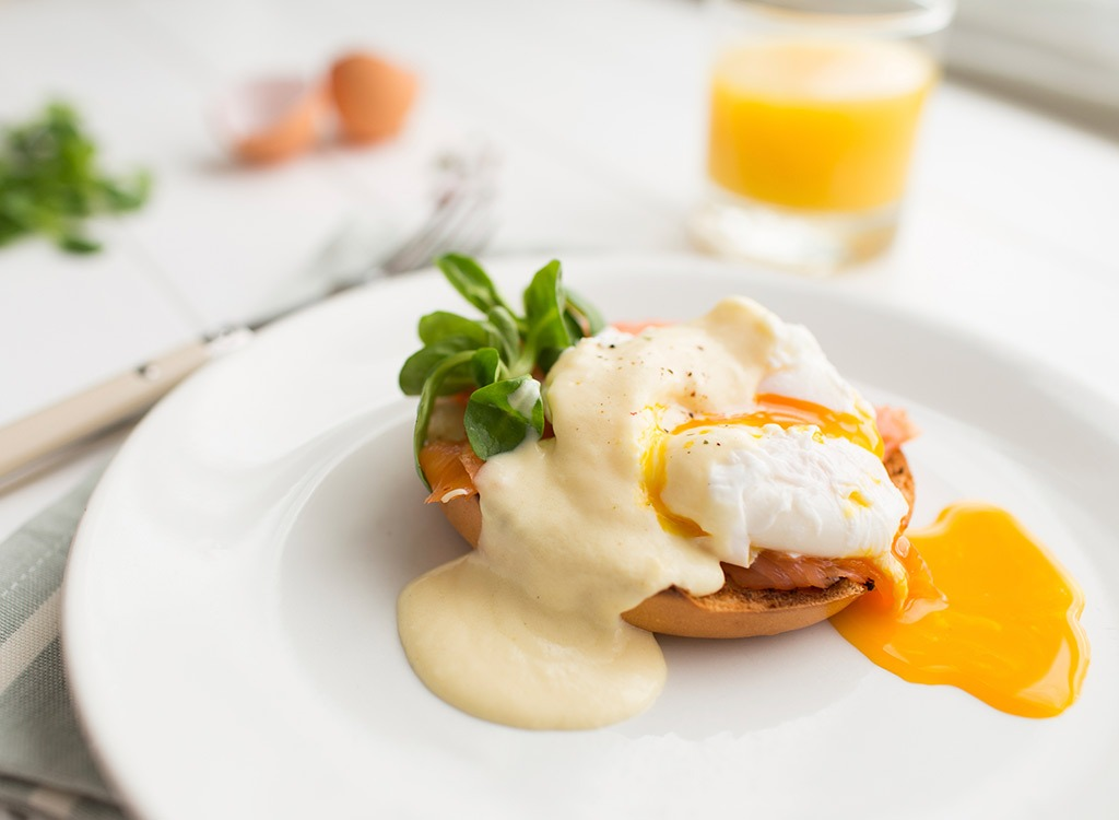 Prepare for nutrition poached egg