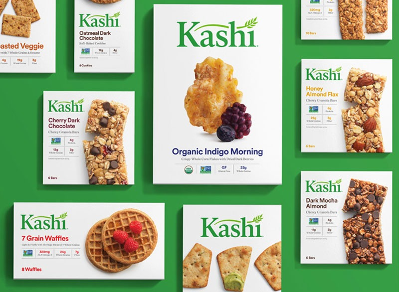 Assortment of Kashi products